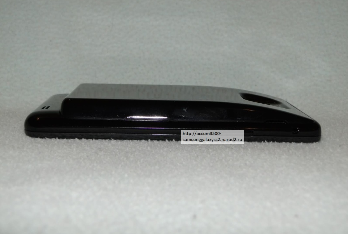 Samsung Galaxy S2  I9100 с усиленным аккумулятором, батареей повышенной емкости на 3500 mah и задней крышкой